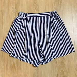 🎉5 for $25🎉Victoria's Secret Silk Striped Shorts